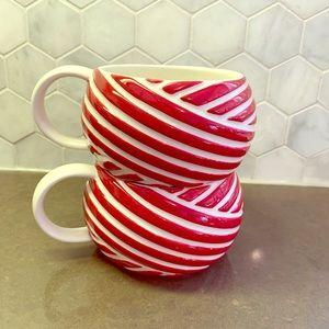 ☕️ 3 / $25 Starbucks Coffee Mug x2 Candy Cane